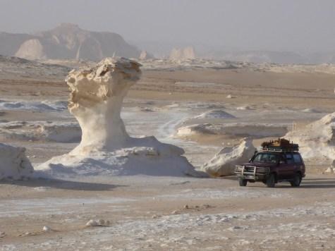 jeep white desert