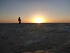 sunrise desert white