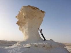 large mushroom sculture sandstone