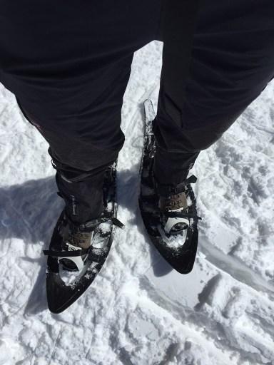 snowshoes Schneeschuhe