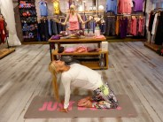Yoga stretching Schuster