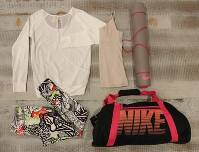 Yoga Outfit Reebok Nike Lole