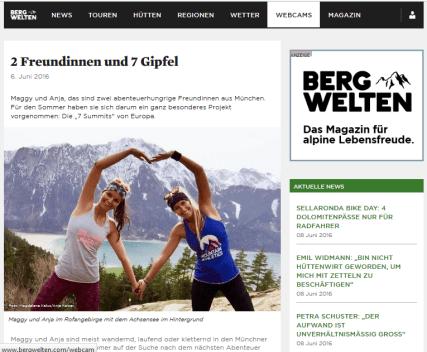 Bergwelten Seven European Summits Youareanadventurestory