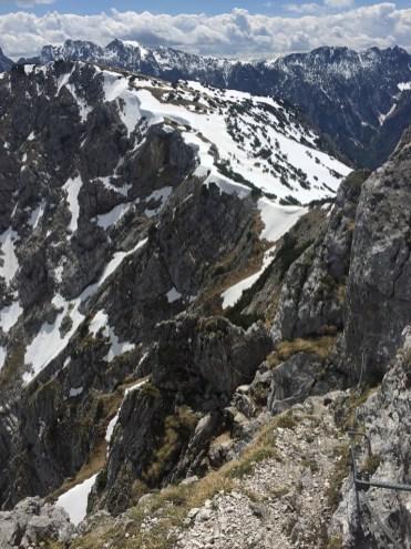 Rock stones Alps