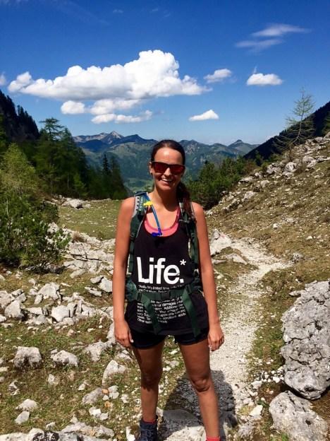 Hikinggirl woman Hiking