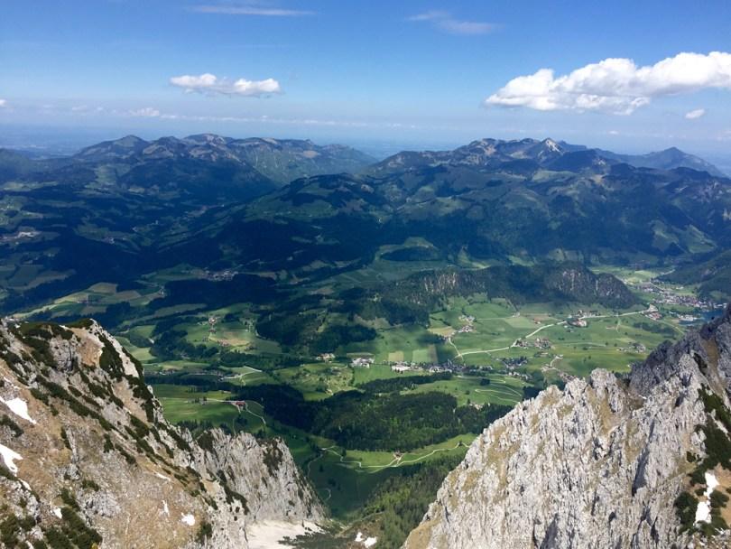 Rolling hills Bavaria Alps