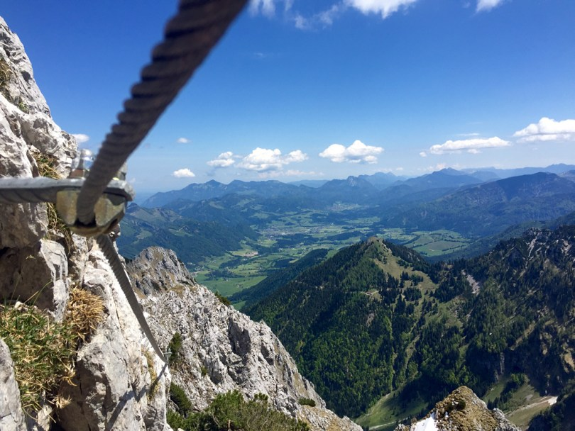 Cable Pyramidenspitze Klettersteig