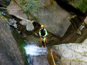Abseiling canyon Kärnten