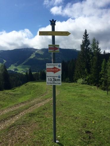 Marathon Trail Hochkönigman Guidepost