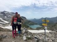 Trailrunning Girls Kaprun reservoir