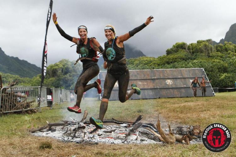 Fire Jump Spartan Race Hawaii