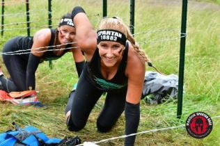 Wire crawl Spartan Race