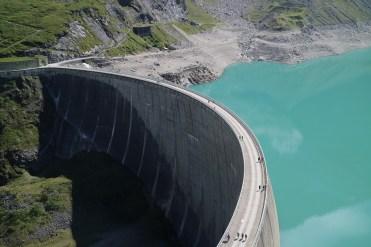 Dam Kaprun reservoir
