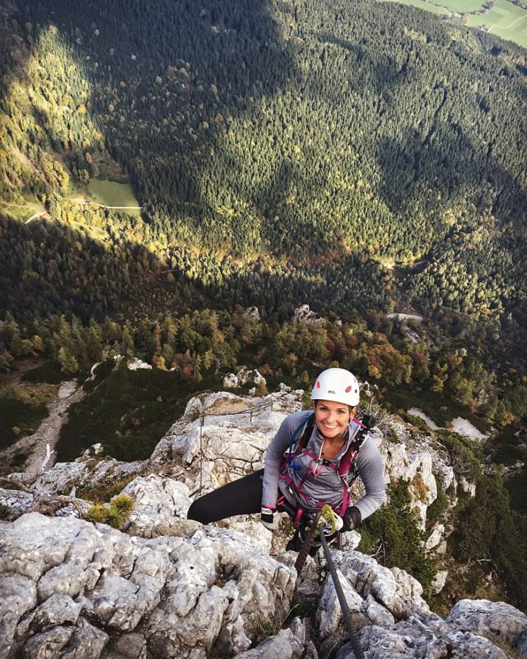 Pidinger Klettersteig woman girl
