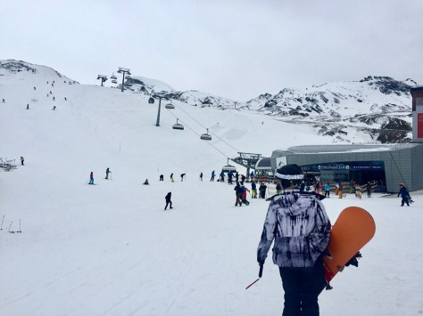 Gletscherjet Kitzsteinhorn