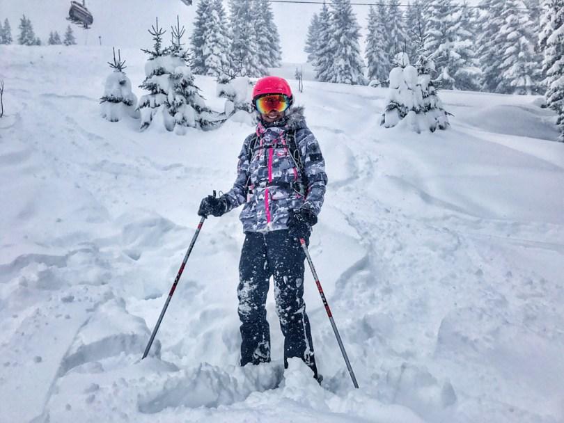 Powder skiing Hochkönig off-piste