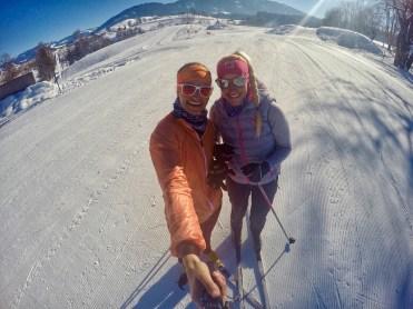 Cross country skiing nordic saalfelden leogang