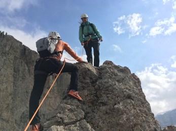 Climbing friends team Terrex