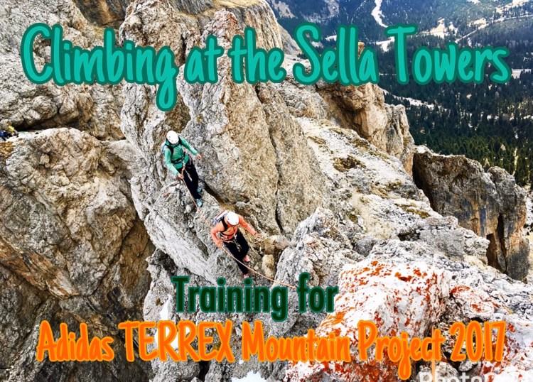 Terrex Mountain Project 2017 Training Sella
