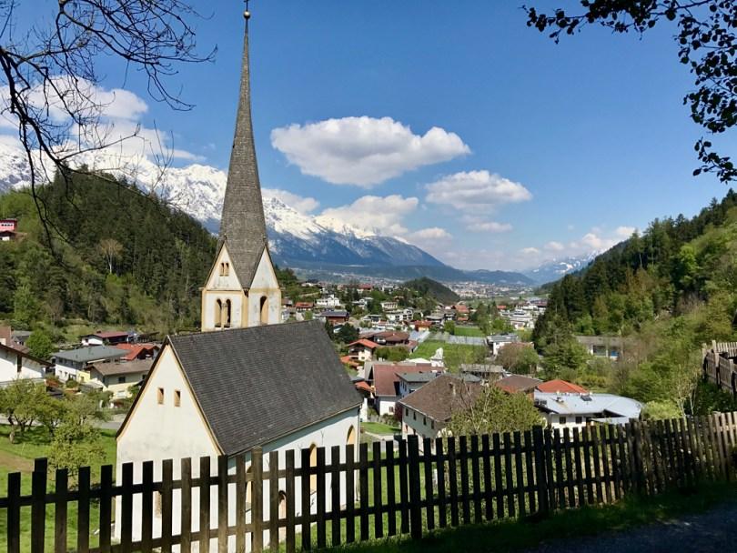 Innsbruck Trailrunning trails