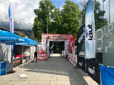 Finish line Innsbruck Alpine Trailrun