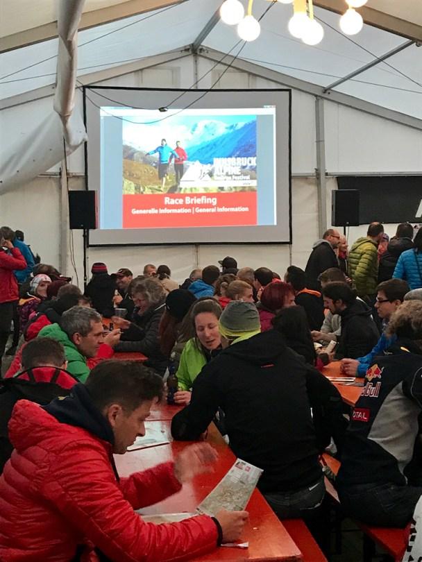 Race Briefing Innsbruck Alpine 2017