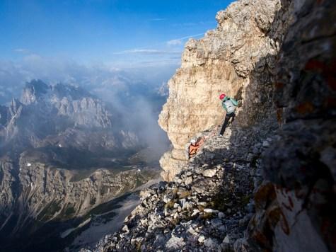 Climbing Cima Grande youareanadventurestory