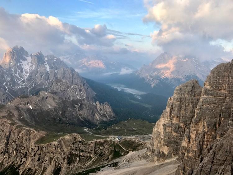 Dolomites panorama cime