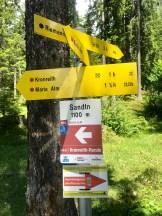 Signpost Hochkönigman