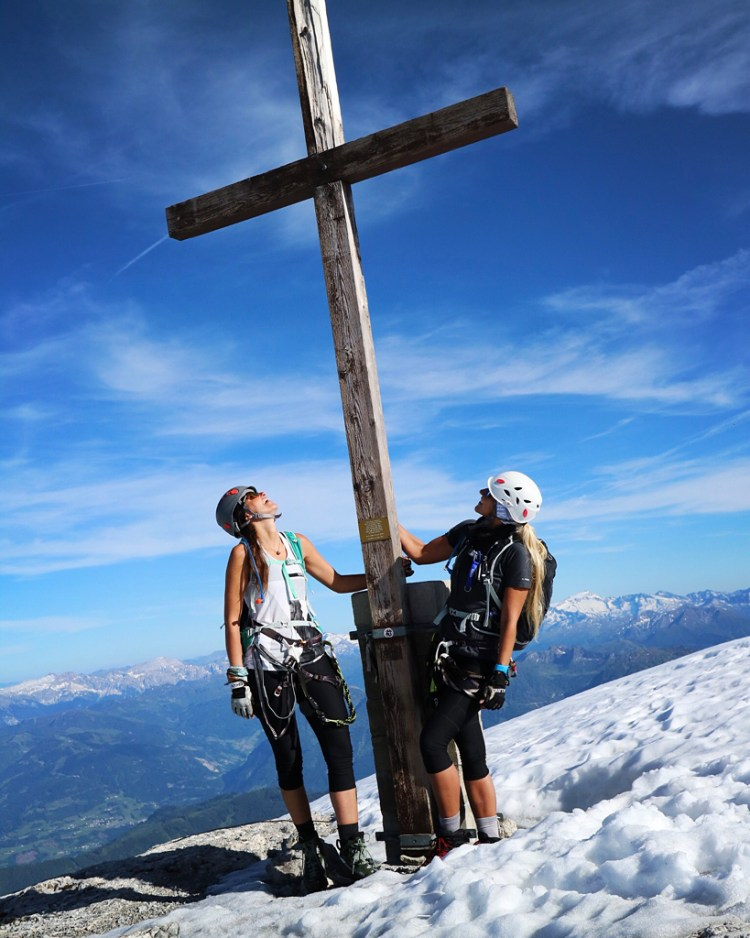 Hochkönig summit cross You are an adventure story