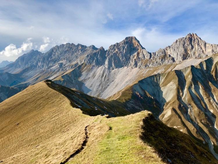 Wetterstein Tyrol Mountains