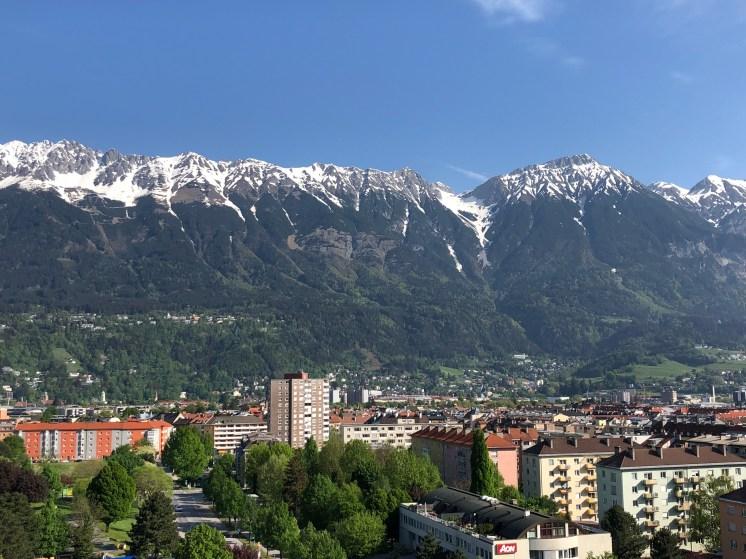 Nordkette Innsbruck view