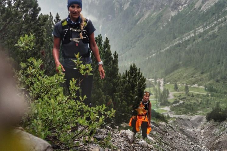 Latschen Wandern Tal