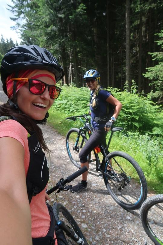 Biking adventure girls