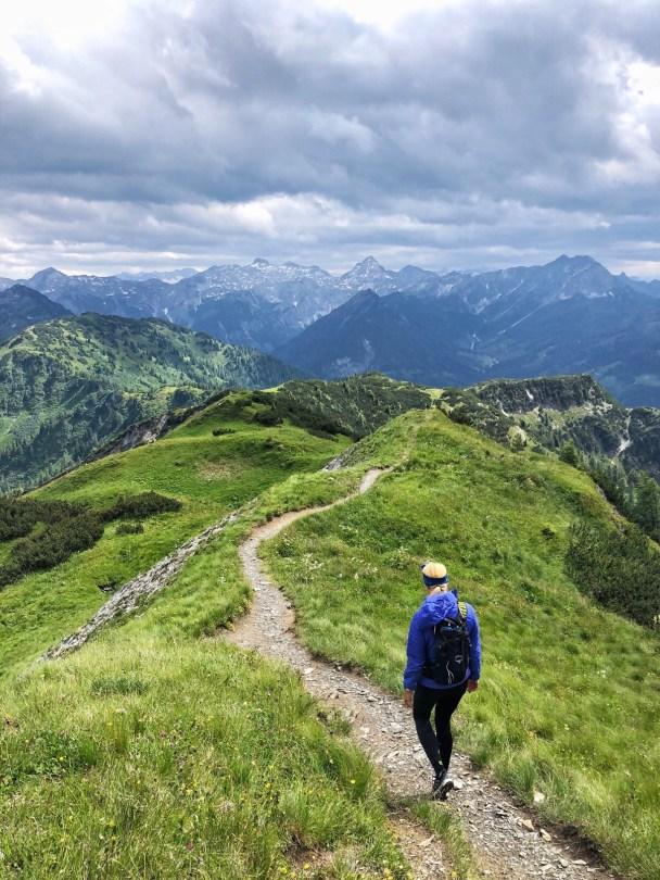 Sattelbauer Flachau Wanderung