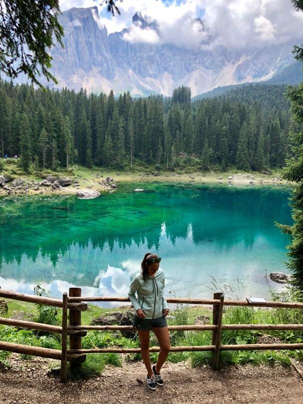 Lago di Carezza yaaas