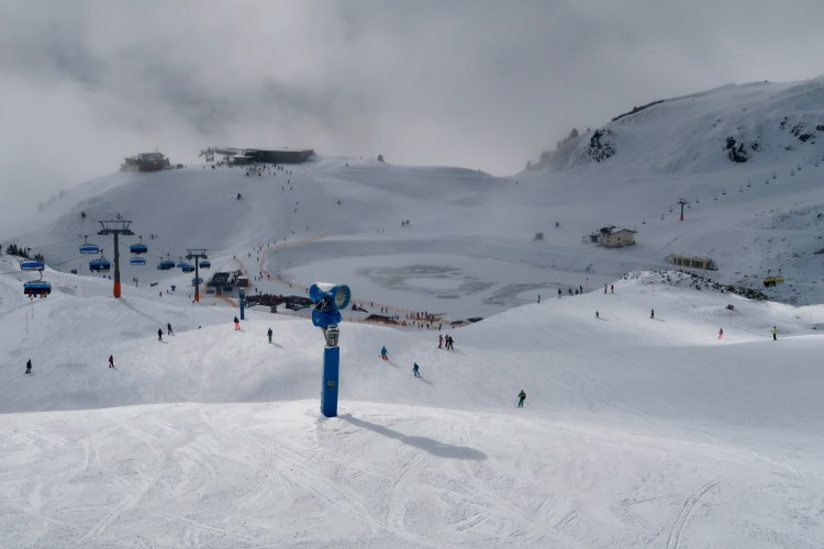 Obertauern ski area slopes