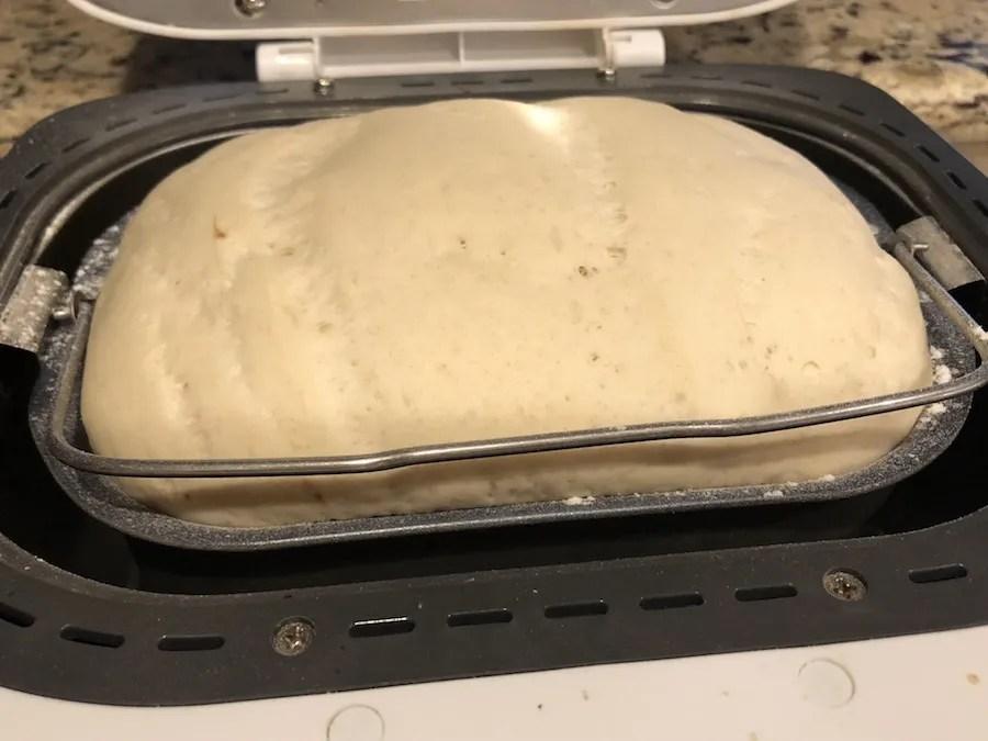 Hot pocket dough in the bread machine
