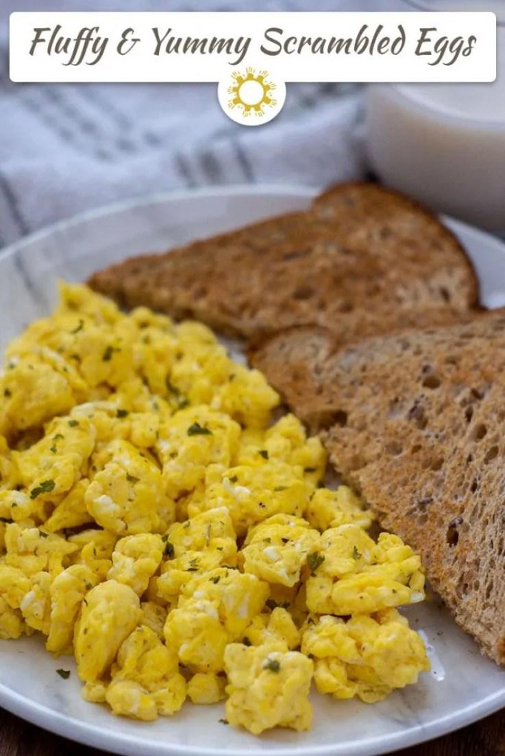 Fluffy and Yummy Scrambled Eggs