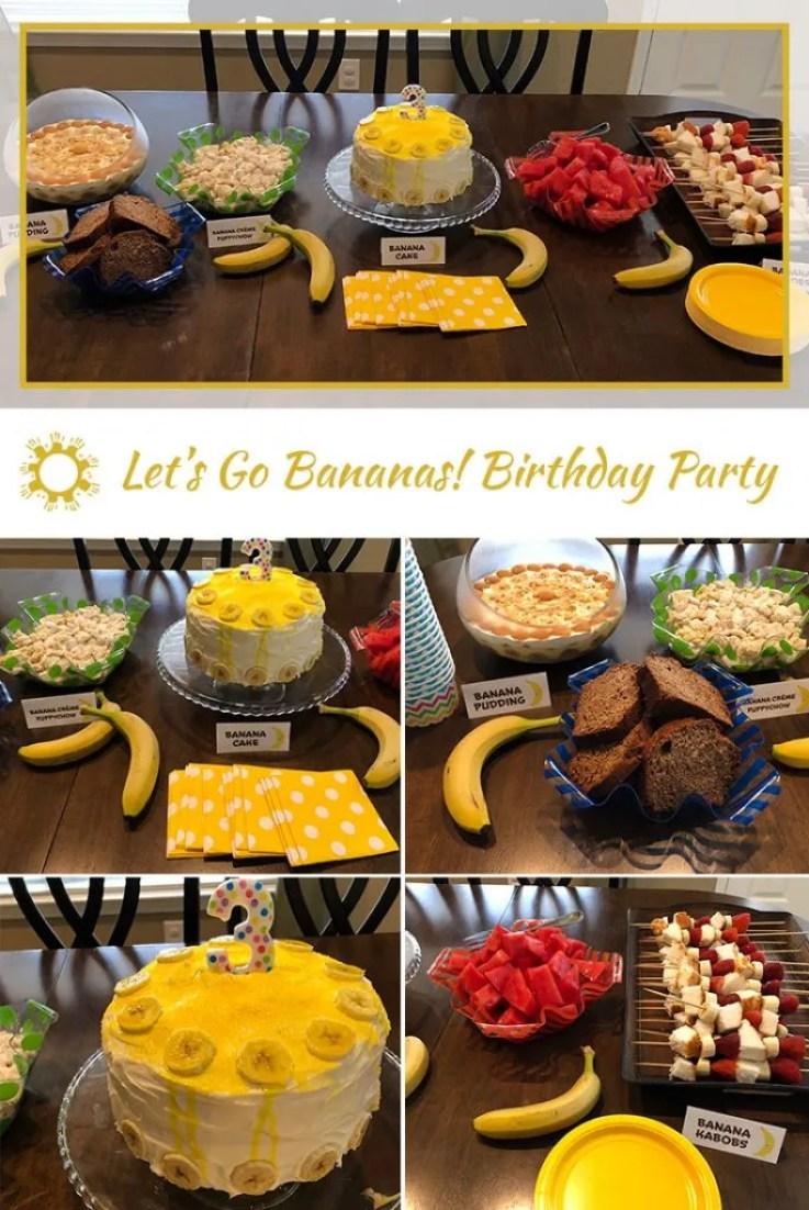 Let's Go Bananas: Birthday Party