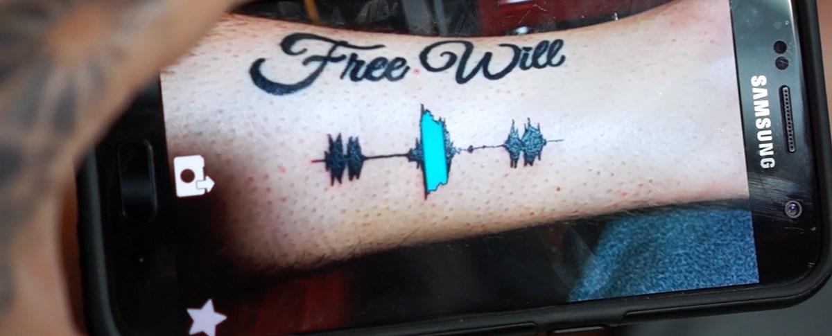 Soundwave Tattoos by Skin Motion