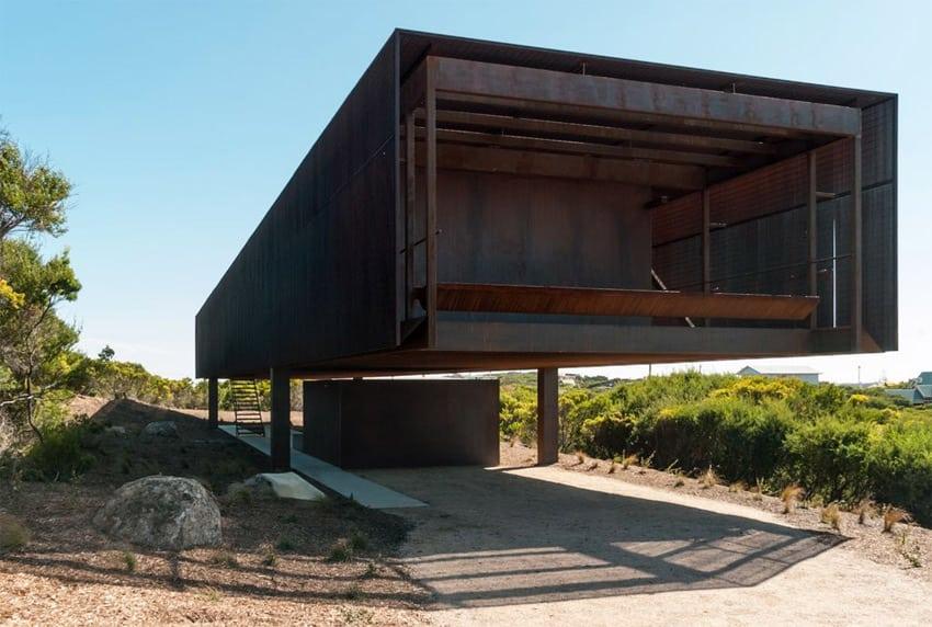 Sean Godsell architects. St Andrews beach house