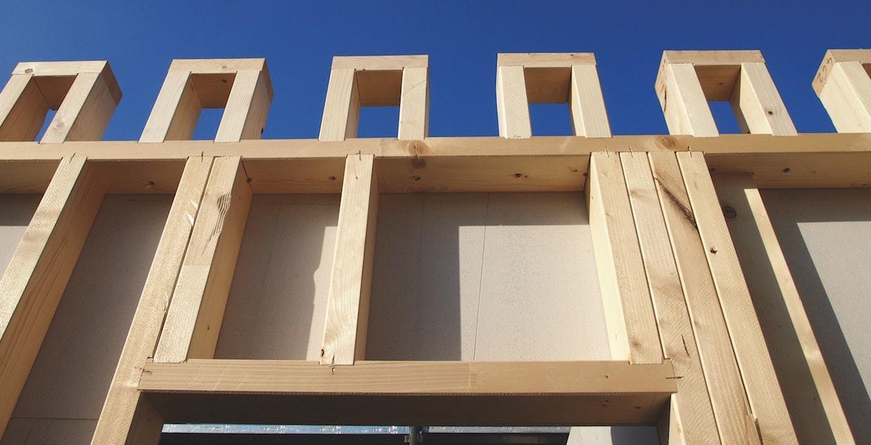 Case in legno telaio o x lam for Case in legno difetti