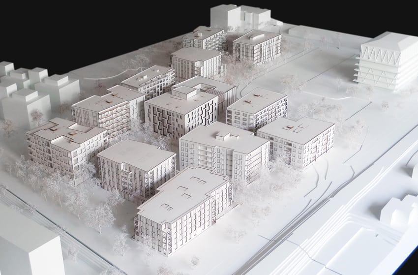 Haus A (progetto). Foto: Johannes Marburg