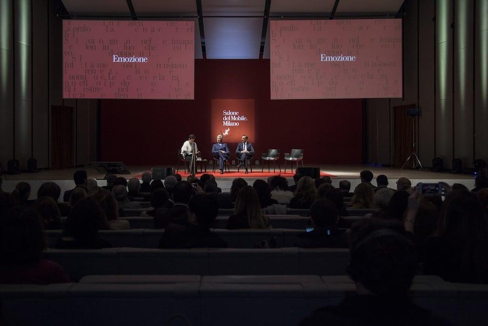 Conferenza Salone del Mobile