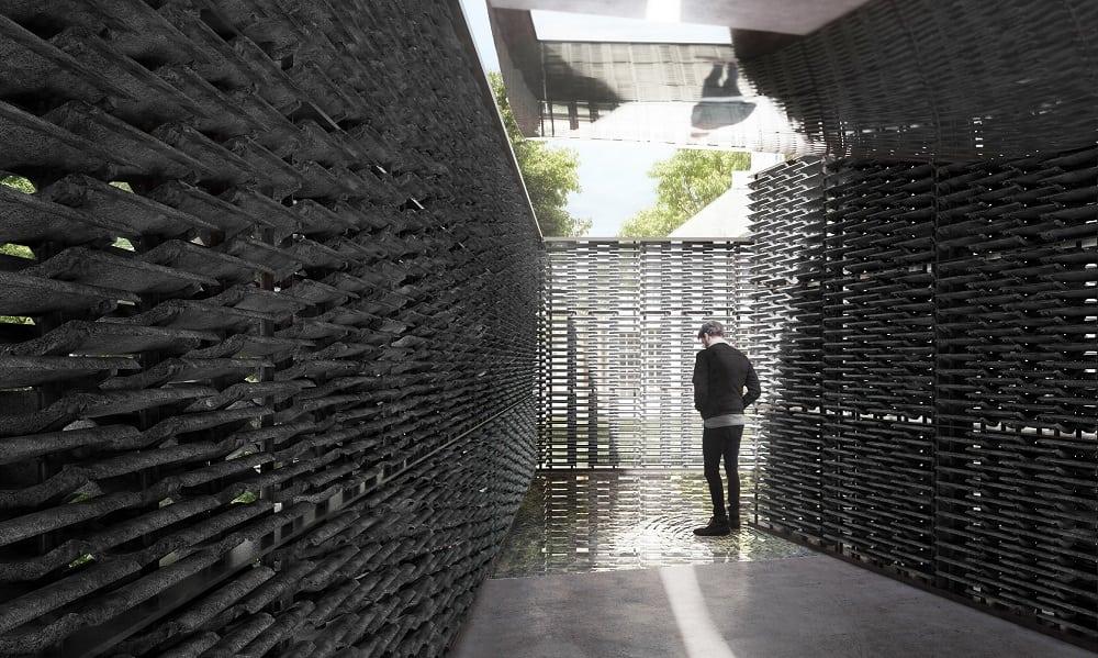 Serpentine Pavilion 2018 Frida Escobedo