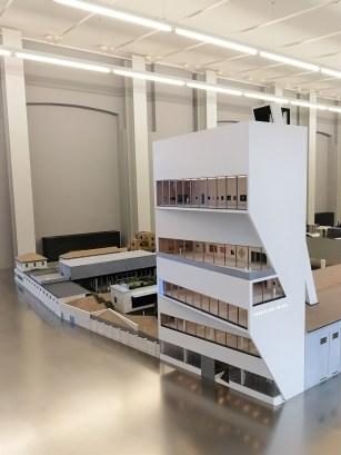 Secondo modello Fondazione Prada Milano OMA
