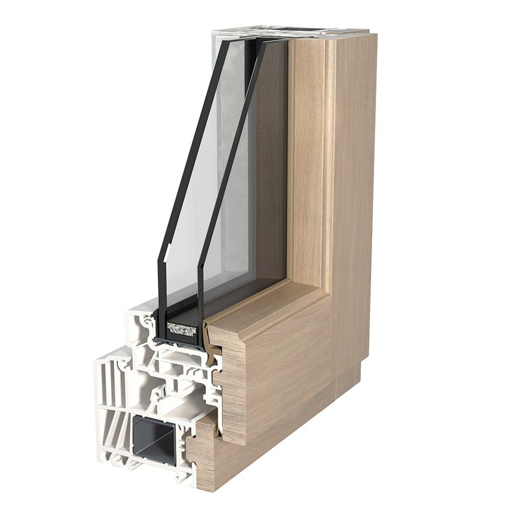 finestra legno pvc