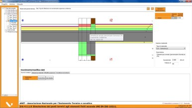 Fase 1 - Nodo solaio-balcone con parete-serramento