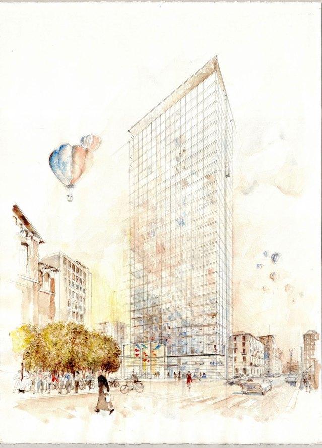 La nuova torre Galfa © BG&K Associati